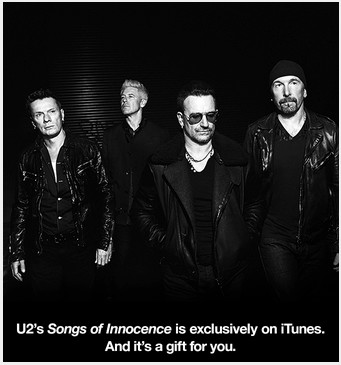 U2 from iTunes is a gift